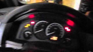 """Chevrolet Meriva - Ativar/Desativar o """"Follow me Home"""""""