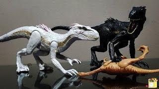 Indoraptor Albino/White Indoraptor | Mattel Jurassic World TFK (Repaint)
