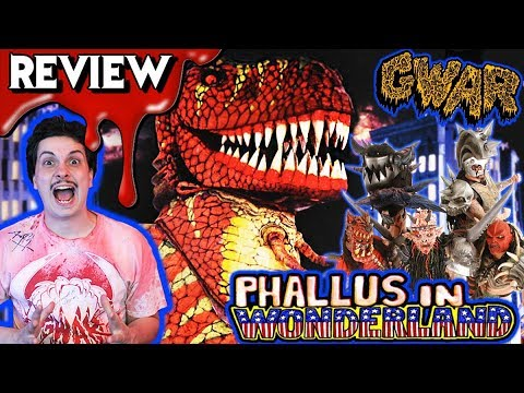 GWAR:  PHALLUS IN WONDERLAND (1992) 🍆  Horror Comedy Movie Review