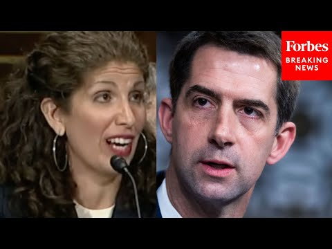 'Last Time You Flew, Did You Have To Show An ID?': Tom Cotton Grills Myrna Perez Over Vote
