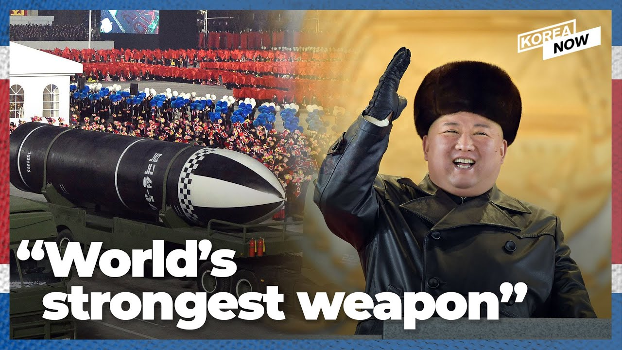 North Korea shows off latest SLBM in Pyongyang parade