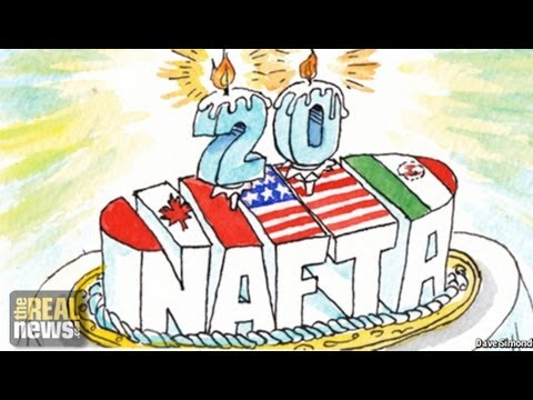 20 Years on, Mexico is NAFTA's Biggest Lie