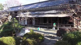 兵庫県赤穂城。その中に残る赤穂浪士記念館と、家老の大石内蔵助が眺めて...