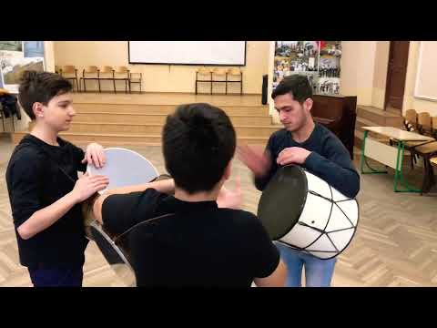 армянские барабаны, дхол, армянская музыка