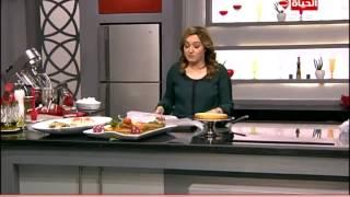 برنامج المطبخ – تورتة طبقات الفراولة – الشيف آية حسني  – Al-matbkh