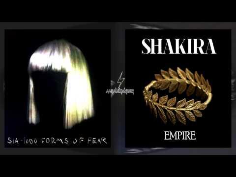 Shakira Vs Sia - Empire Big Girls Cry Mashup By Mr Alexander