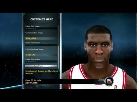 NBA 2K12 - How To Create Jimmy Butler