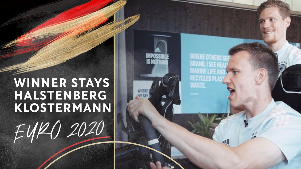 Racing Challenge: Marcel Halstenberg vs. Lukas Klostermann | The Winner Stays