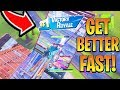 How To Get BETTER/IMPROVE in Fortnite Fast! Fortnite Ps4/Xbox BEST Tips! (How to Win Fortnite)
