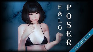Download: http://mod.dysintropi.me/halos-poser-s1-8/ Credits: Halofarm for the mod creation! This is only a review video! My mod site: http://skyrimgtx.com/ ...