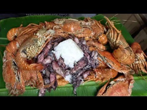 Download Lobster Sugpo Alimasag Pusit /Mukbang Part 2