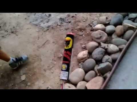 Three peat black cat rocket
