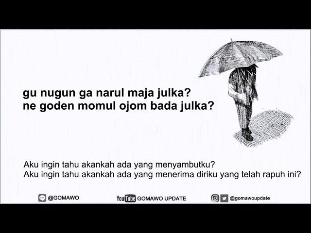 Easy Lyric RM BTS - FOREVER RAIN by GOMAWO [IndoSub]