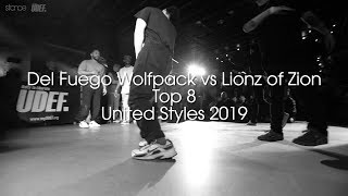 Del Fuego Wolfpack vs Lionz of Zion (Top 8) // .stance // United Styles 2019