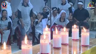 Trực Tiếp - Các Giờ Viếng Và Cầu Nguyện Tại Lễ Tang Cụ Giêrônimô Bùi Hoàng Điểu Đền Thánh Bác Trạch