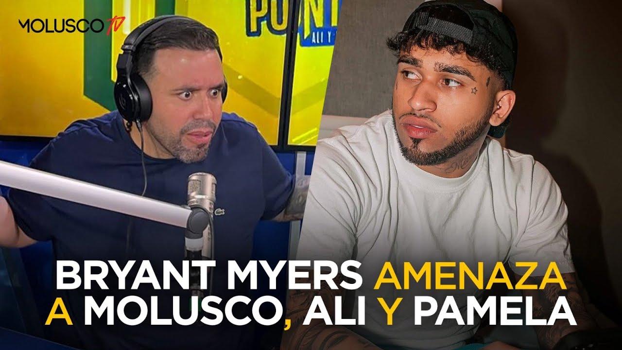 BRYANT MYERS amenaza a Molusco, Ali y Pamela por decir que no llenaría EL CHOLI 😳