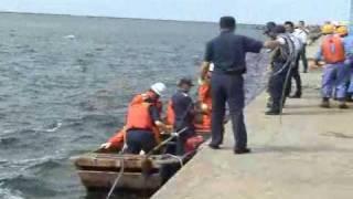 【北朝鮮】H19.9.6脱北船検証実験 秋田港