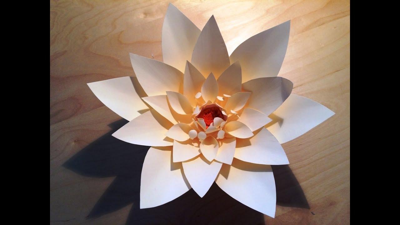 giant paper flower backdrop