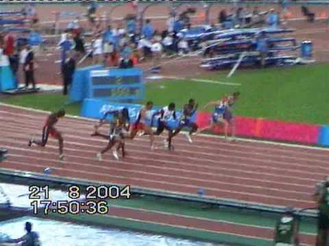 Matic Osovnikar 100m OI Atene 2004