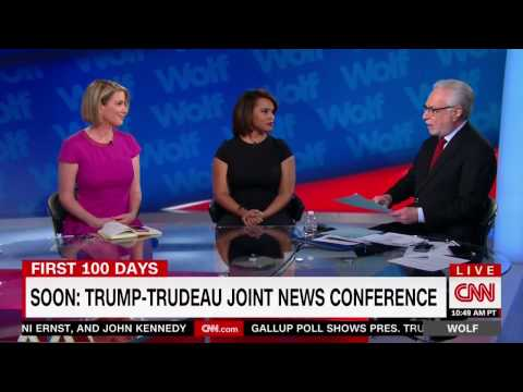 Laura Coates CNN Legal Analyst: On Trump and Canadian PM Justin Trudeau Joint News Conference