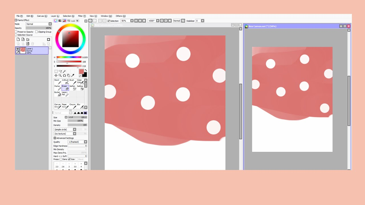 drawing software paint tool sai