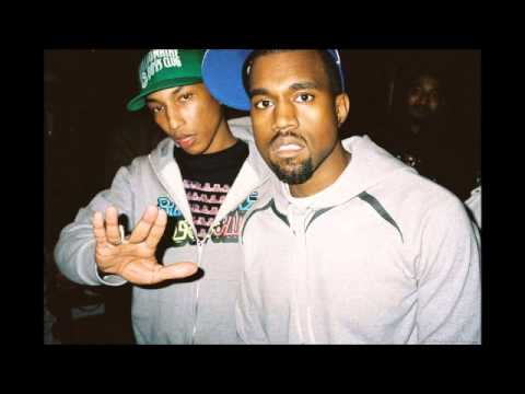 Pharrell and Kanye West  Number One Sam Gellaitry Remix