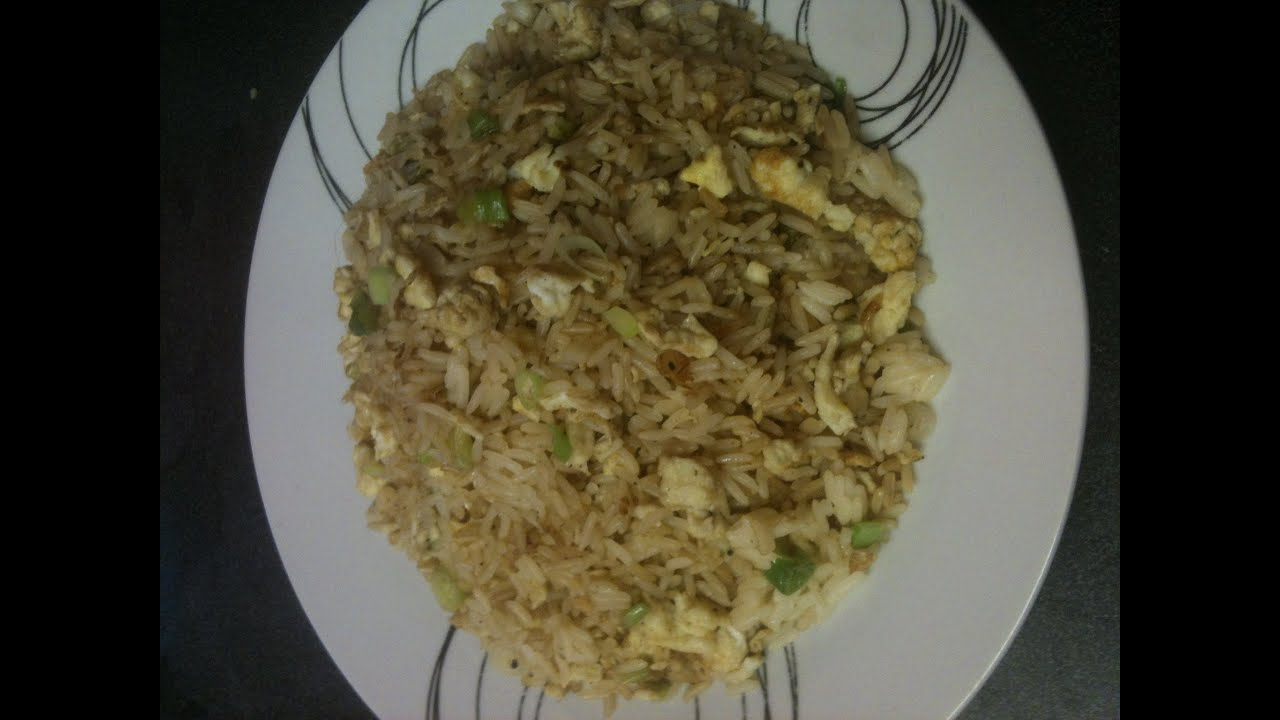 How To Cook  Egg Fried Rice! Uk Style