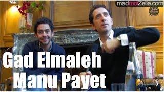 Gad Elmaleh Manu Payet
