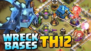 WRECK BASES at TH12 | Best Town Hall 12 Attack Strategy - Lavaloon | Clash of Clans