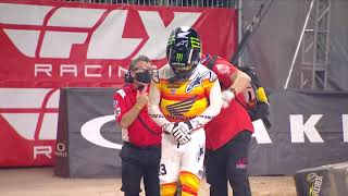 Supercross Round #2 450SX Highlights | Houston, TX, NRG Stadium | Jan 19, 2021 #supercross
