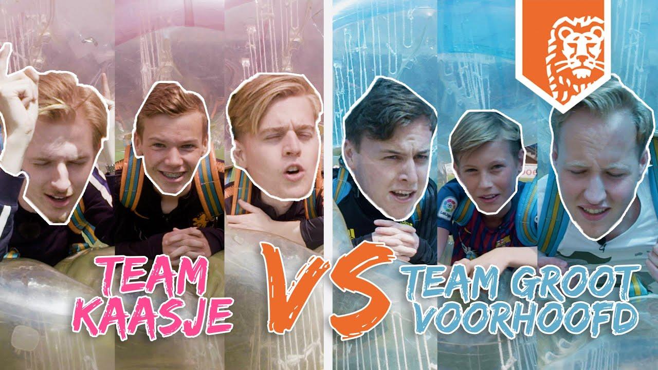 BUBBEL VOETBAL | TEAM KAASJE 🧀 vs. TEAM GROOT VOORHOOFD😡 ft. MATTHY, KOEN, ROBBIE, MILO & RAOUL