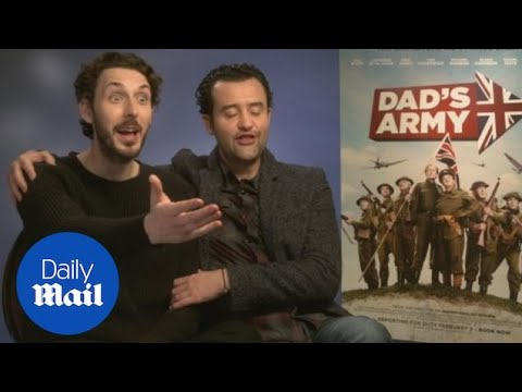 Blake Harrison and Danny Mays on Dad's Army 'bromance'  Daily Mail