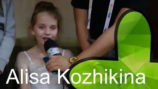 alisa Kozhikina interview