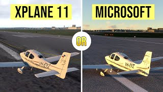 WHICH SIM should you buy - MICROSOFT or XPLANE?