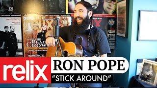 """Stick Around"" | Ron Pope | 9/28/17 | Relix Studio Sessions"