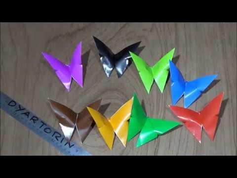 Origami Cara Membuat Kupu Kupu Dari Kertas Lipat