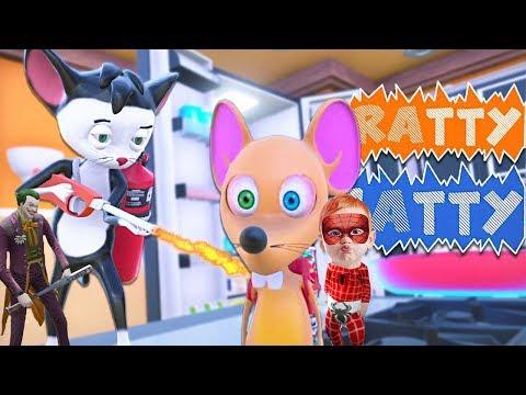 Örümcek Bebek Ve Joker Kedi Fare Oyunu Oynuyor Çok Komik (Ratty Catty)