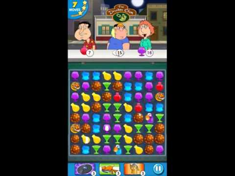 Family Guy Another Freakin Mobile Game Level 34 - NO BOOSTERS