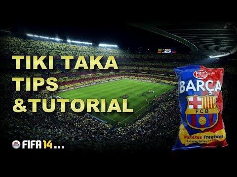 FIFA 15(14) Tiki Taka Tips&TUTORIAL Pep Guardiola Barcelona