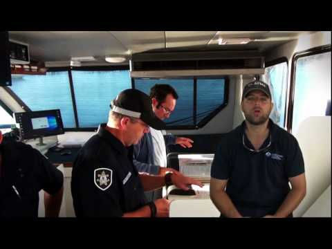 AFMA Fisheries Officer vessel inspection