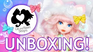 Cat and Raven Designs Unboxing: Pastel Galaxy Soap!