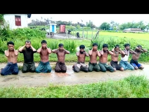 Myanmar soldiers jailed