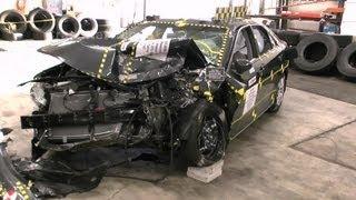 2012 Toyota Camry   Frontal Oblique Offset Test Documentation   CrashNet1