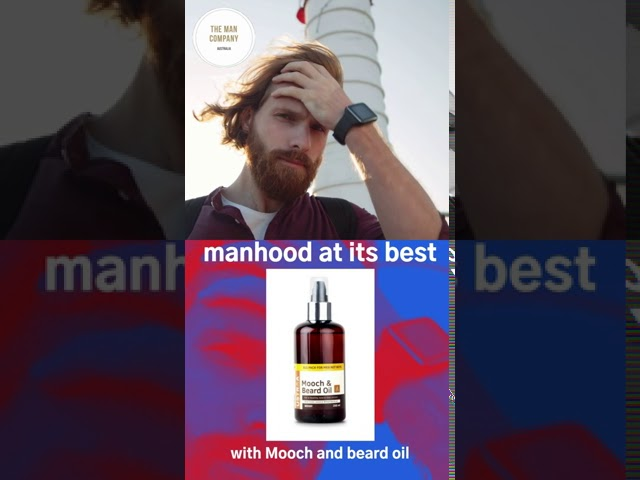 The Man Company Australia | Beard and Man | Perfect grooming style | Mooch and Beard Oil