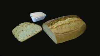 Бездрожжевой пшеничный хлеб на жидких дрожжах