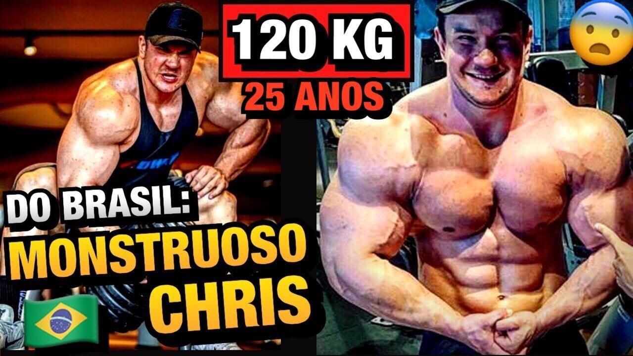 GIGANTE QUE É AMADOR - CONHEÇA CHRIS + UMA PROMESSA DA GROWTH !! (120 kg no off)