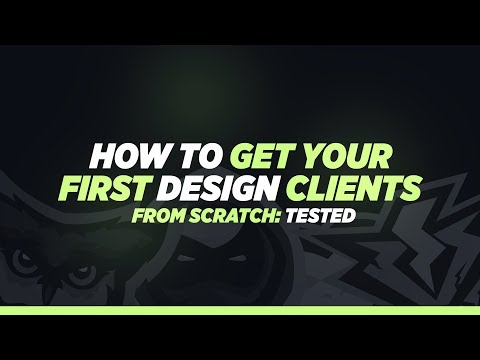 How to get Your First Design Clients