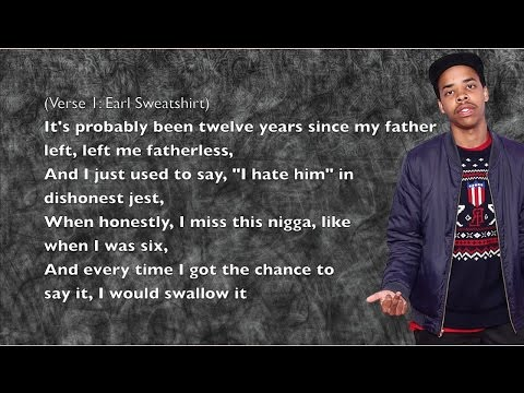 Earl Sweatshirt - Chum - Lyrics