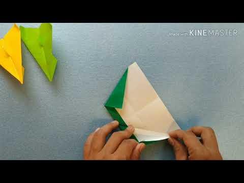 Origami Pesawat Sederhana Lv. 11
