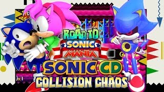 Road to Sonic Mania: Sonic CD Part 2 -Collision Chaos (Christian Whitehead Remake)
